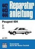 Peugeot 604 SL, TI, STI (ab 75)