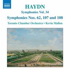 Sinfonien 62,107+108 - Mallon,Kevin/Toronto Chamber Orchestra