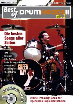 Best of DrumHeads!!, m. Audio-CD
