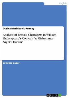 Analysis of Female Characters in William Shakespeare's Comedy