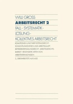 Arbeitsrecht 2 - Gross, Willi