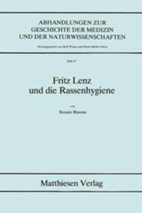 Fritz Lenz und die Rassenhygiene