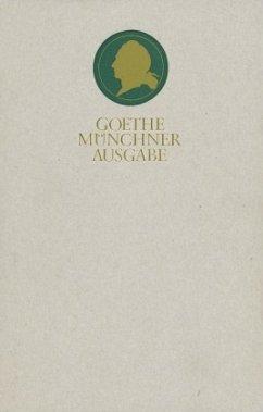 Der junge Goethe 1757 - 1775 / Sämtliche Werke nach Epochen seines Schaffens, Münchner Ausgabe Bd.1/2, Tl.2 - Goethe, Johann Wolfgang von