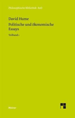Politische und ökonomische Essays / Politische und ökonomische Essays