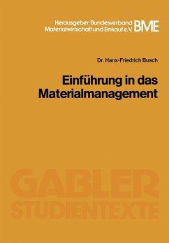Einführung in das Materialmanagement