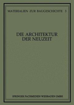 Die Architektur der Neuzeit