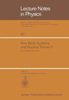Few Body Systems and Nuclear Forces II