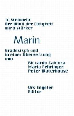 In memoria /Der Wind der Ewigkeit wird stärker - Marin, Biagio