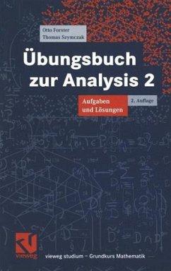 Analysis 2. Übungsbuch - Aufgaben und Lösungen