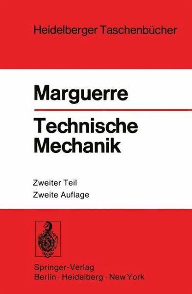Technische mechanik von karl marguerre fachbuch b for Technische mechanik grundlagen pdf