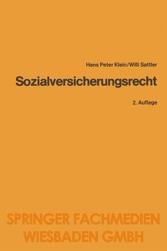 Sozialversicherungsrecht