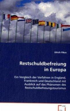 Restschuldbefreiung in Europa