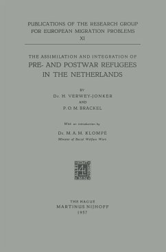 The Assimilation and Integration of Pre- and Postwar Refugees in the Netherlands