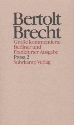 Werke. Große kommentierte Berliner und Frankfurter Ausgabe. 30 Bände (in 32 Teilbänden) und ein Registerband - Brecht, Bertolt