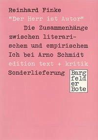 Der Herr ist Autor - Finke, Reinhard