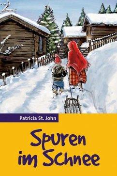 Spuren im Schnee - St. John, Patricia