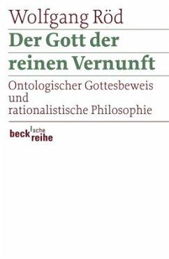 Der Gott der reinen Vernunft - Röd, Wolfgang