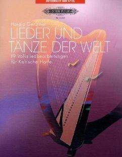 Lieder und Tänze der Welt, für Keltische Harfe - Genzmer, Harald