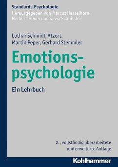 Emotionspsychologie - Schmidt-Atzert, Lothar; Peper, Martin; Stemmler, Gerhard