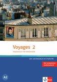 Voyages 2. Lehr- und Arbeitsbuch. Mit 2 CDs