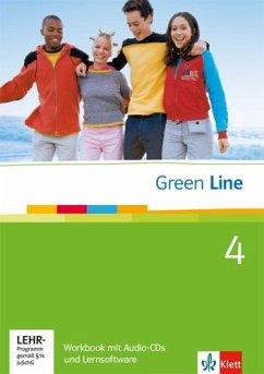 Green Line 4. Workbook mit Audio CD und Lernsoftware.