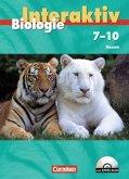 7.-10. Schuljahr, Schülerbuch m. DVD-ROM / Biologie interaktiv, Ausgabe Hessen