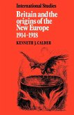 Britain and the Origins of the New Europe 1914 1918