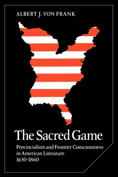 The Sacred Game - Frank, Albert J. von