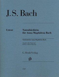 Notenbüchlein für Anna Magdalena Bach 1725, Klavier
