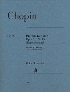 Prélude Des-Dur op.28 Nr.15 (Regentropfen), für Klavier (Müllemann)