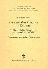 Der Aprilaufstand von 1848 in Konstanz