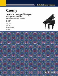 160 achttaktige Übungen op.821, Klavier