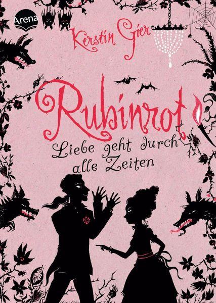 Rubinrot / Liebe geht durch alle Zeiten Bd.1 - Gier, Kerstin