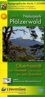 Topographische Karte Rheinland-Pfalz Naturpark ...
