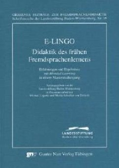 E-LINGO - Didaktik des frühen Fremdsprachenlernens