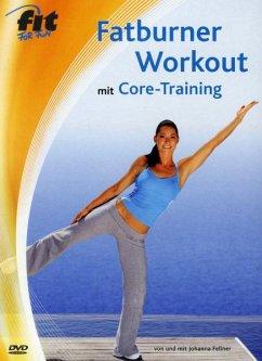 Fatburner Workout mit Core-Training, DVD-Video