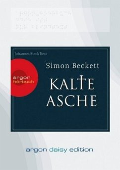 Kalte Asche / David Hunter Bd.2, 1 MP3-CD - Beckett, Simon