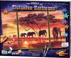 Afrika, Elefanten-Karawane / Meisterklasse Trip...