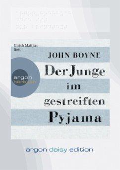 Der Junge im gestreiften Pyjama, 1 MP3-CD (DAISY Edition) - Boyne, John