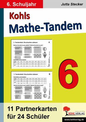 Kohls Mathe-Tandem / 6. Schuljahr - Stecker, Jutta