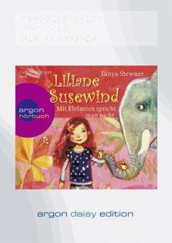 Mit Elefanten spricht man nicht! / Liliane Susewind Bd.1 (1 MP3-CD, DAISY Edition) - Stewner, Tanya