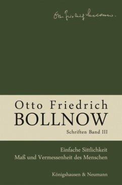 Otto Friedrich Bollnow: Schriften - Band 3