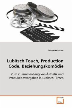 Lubitsch Touch, Production Code, Beziehungskomödie: