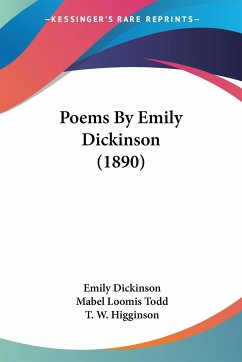 Poems By Emily Dickinson (1890)