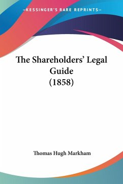 The Shareholders' Legal Guide (1858)