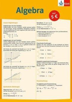 Auf einen Blick. Algebra
