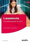Lesetexte - Kompetenzstufen 3 und 4