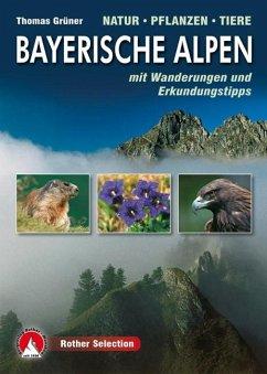 Bayerische Alpen · Natur Pflanzen Tiere