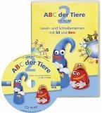 2. Schuljahr, Lesen- und Schreibenlernen mit Sil und Ben, 1 CD-ROM / ABC der Tiere