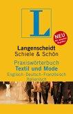 Langenscheidt Praxiswörterbuch Textil und Mode